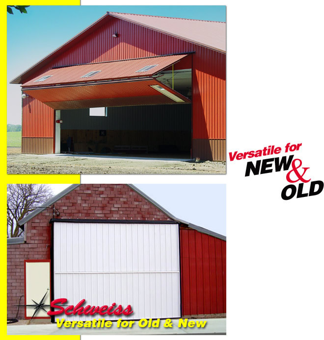 Other uses for bifold doors old new buildings farm for Versatile sheds prices
