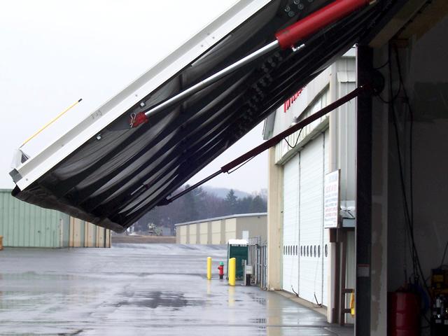 Cortland Hydraulic Hangar Door Original Photos