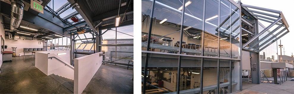 Schweiss Designer Doors Specialty Doors Bifold Garage