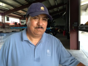 Juan Matinez is the vineyard manager of opus one