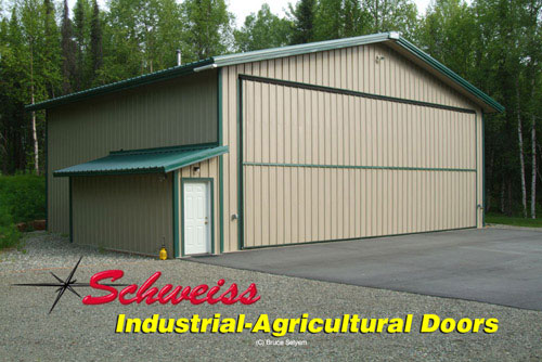 Schweiss Bifold Doors Make Great Agricultural Doors