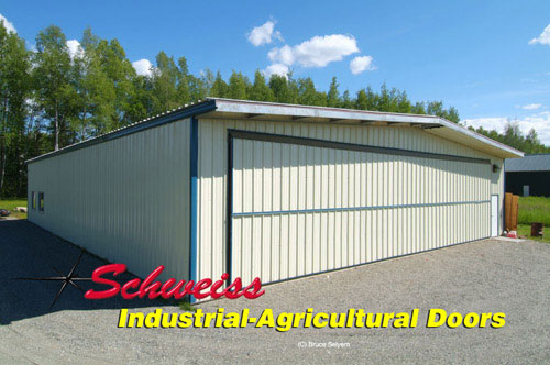 Schweiss Manufactures High Quality Ag Doors