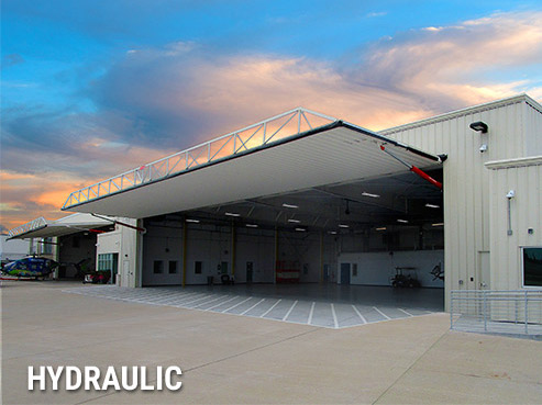 Hydraulic Aviation Hangar Doors