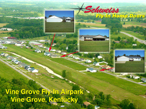 Airpark in Vine Grove, Kentucky.