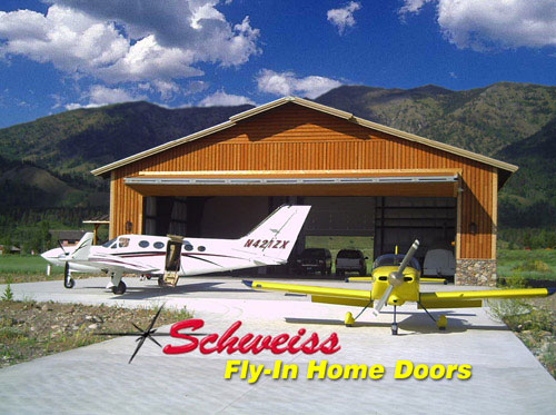 General Aviation Plane Storage Building