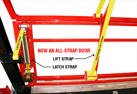 all Schweiss latch strap door