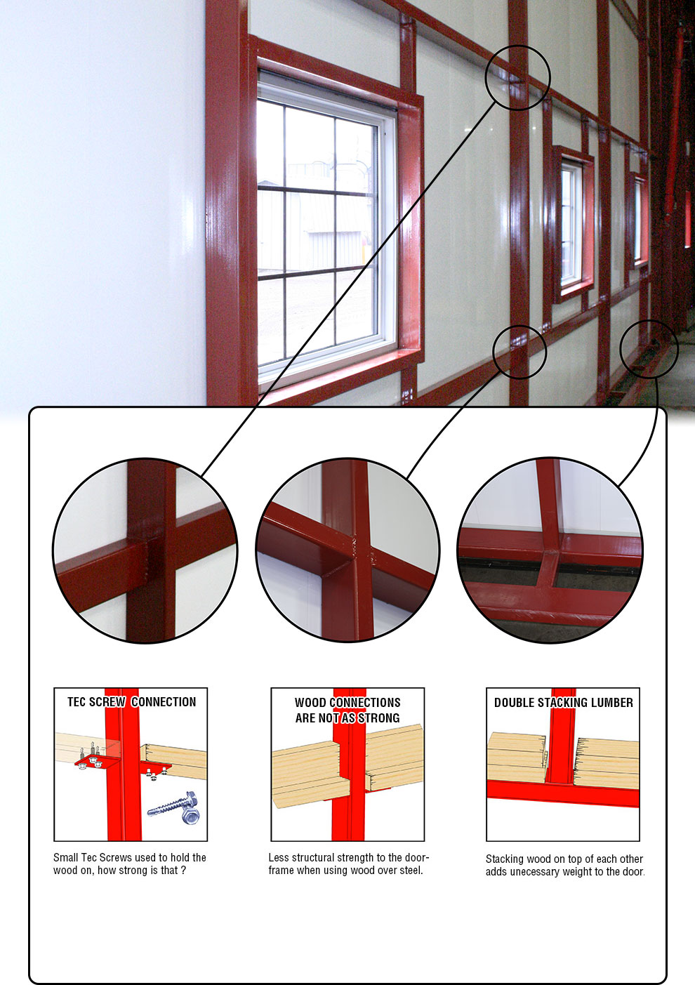 Schweiss All-Steel Doorframe