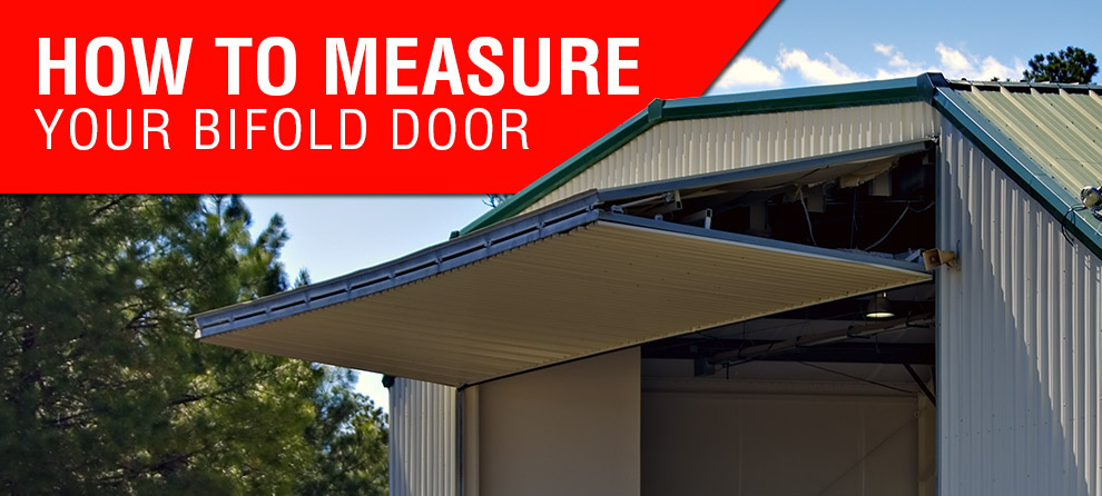 How to measure your bifold door