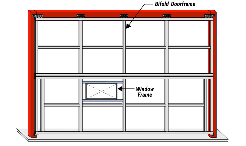 Windows( Fixed or Sliding ) for Aviation Hangar Doors