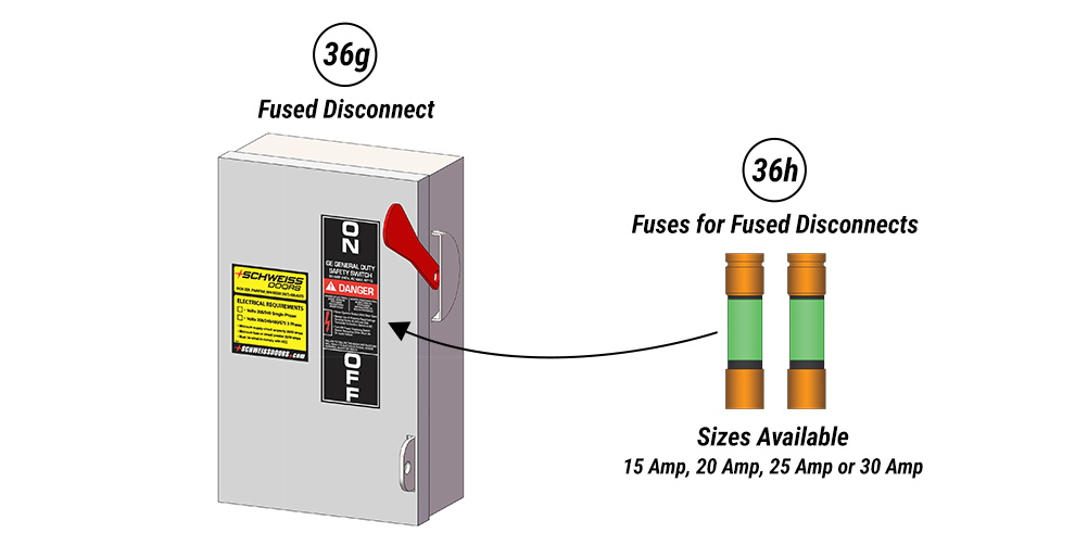 Fused Disconnect for Schweiss Marine Doors