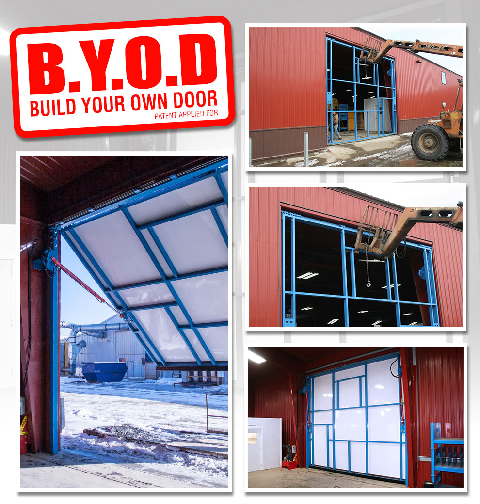 Build Your Hydraulic Own Door! Only From Schweiss