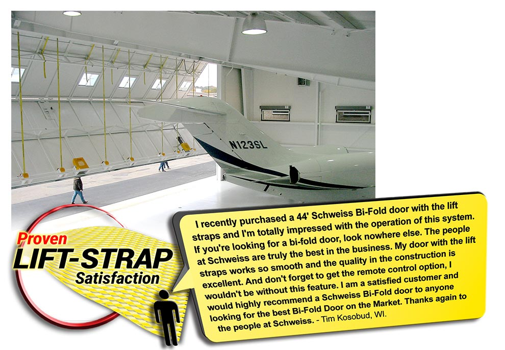 Lift Straps advantage is speed, safety, simplicity, easy-to-use, quiet, smooth, and proven