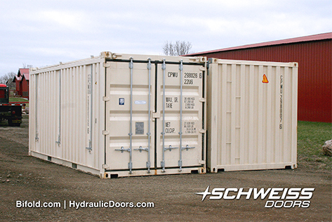 Schweiss Containers Side by Side