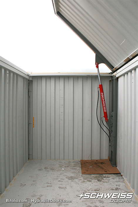 Hydraulic Cylinder lift Schweiss Container Door