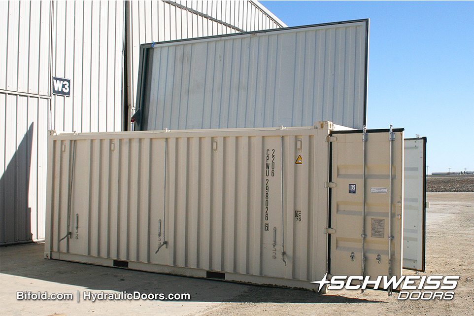 Schweiss with Container Doors and Continer Lid Door
