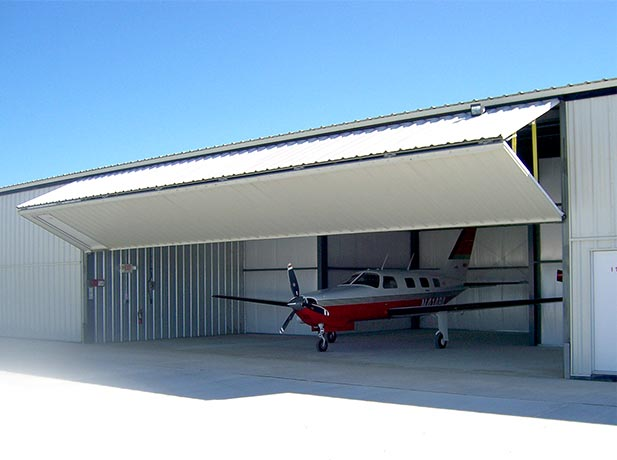 Bult Airfield installs +130 schweiss doors on their hangars