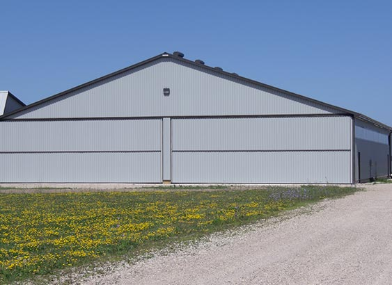 Prestige have experience with many size and style of doors ranging from T-hangars, multiple hangars, and single hangars