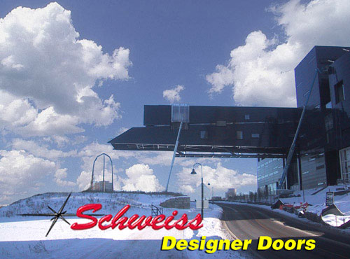 Guthrie Theater Walkway Features a Designer Hydraulic Doors from Schweiss