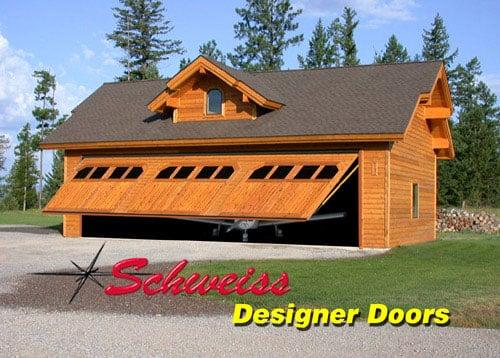 Designer Door Photos: Custom Made Designer Bifold Doors by Schweiss