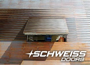 Lousiana Sports Hall of Fame includes Schweiss Hydraulic Doors