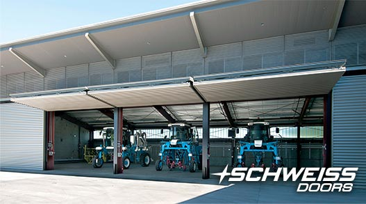 Schweiss Bifold Designer Winery Doors house equipment