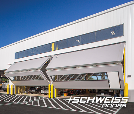 Schweiss Bifold Maintenance Building Doors