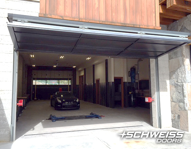 Schweiss Garage Doors opens up for Sports Cars