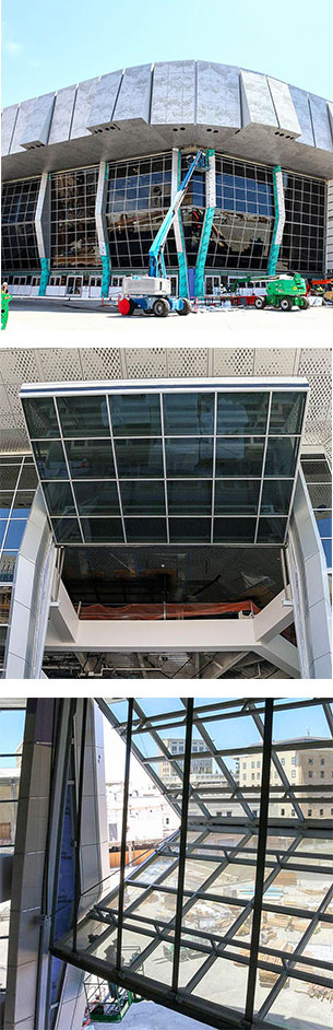 Stadium Bifold Doors for Sacramento Kings