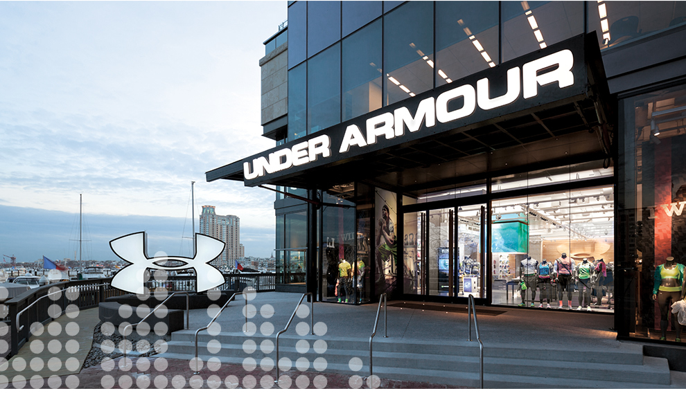 under armour glass door open