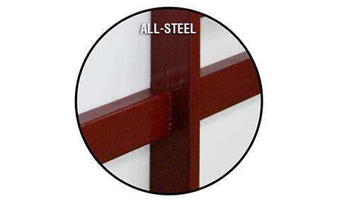 All Steel Doorframe Members