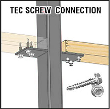 Tec Screw Connections aren't strong