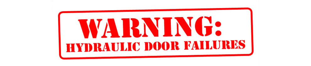 warning hydarulic door failures  sc 1 st  Schweiss Doors & Hydraulic Door Failures: Beware of Poor Engineering pezcame.com
