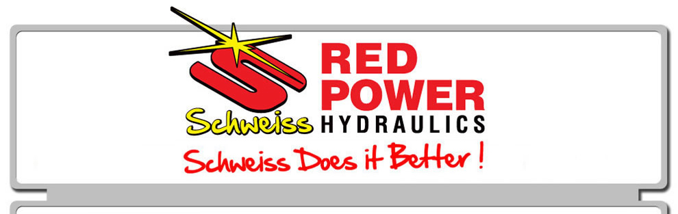 Red Power Hydraulics, Schweiss Does It Better!