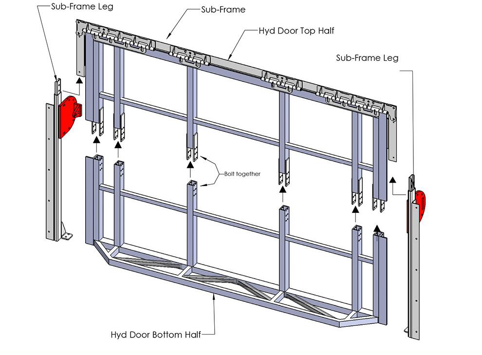 Hydraulic Arm Door Detail : How to install a bifold door installation guide