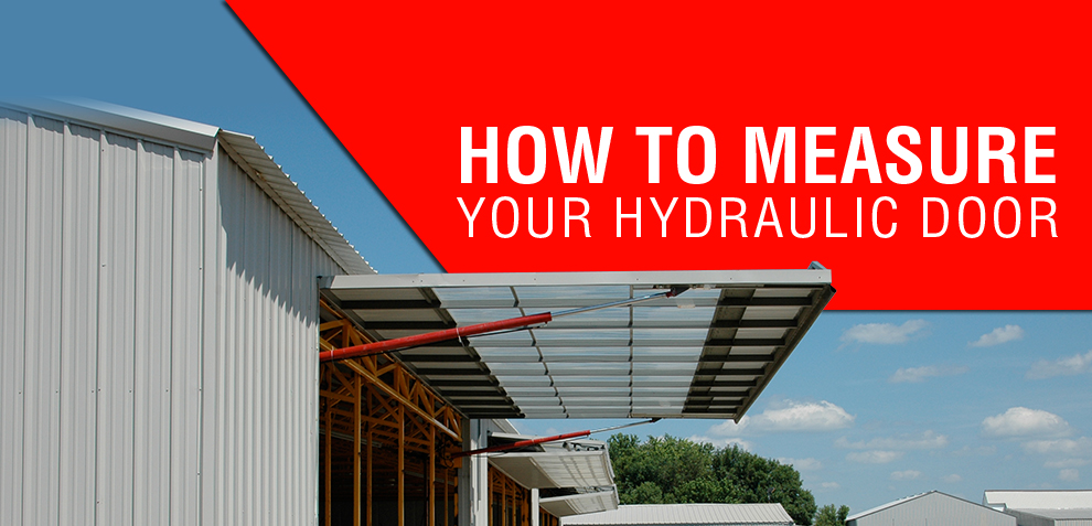 How to measure your hydraulic door
