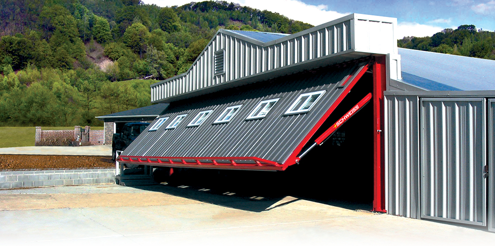 External Truss Door -- Hydraulic