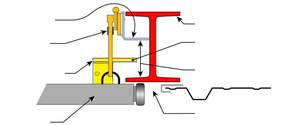 I beam column follower diagram