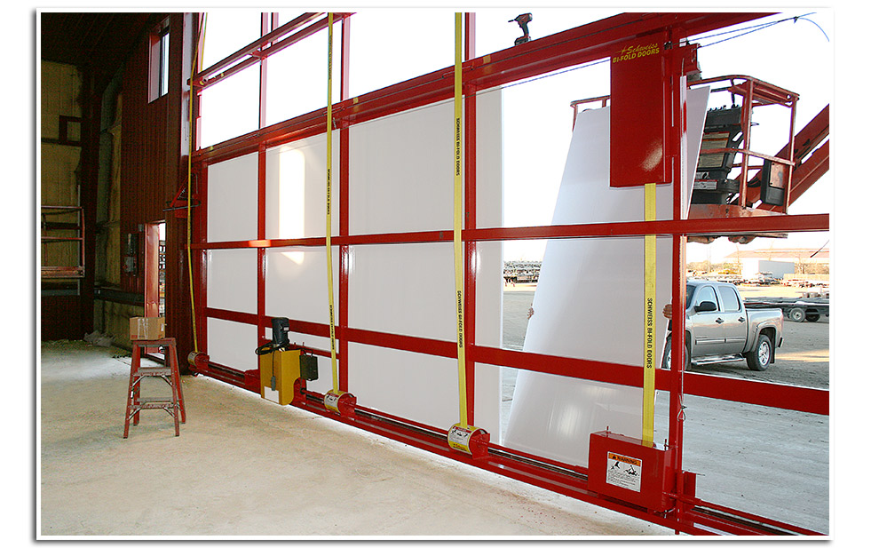 Insulating your hydraulic or bifold door could not be any easier!