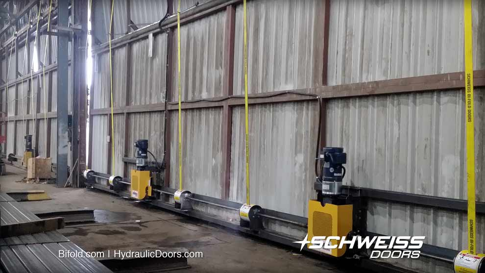 large low maintenance door for work