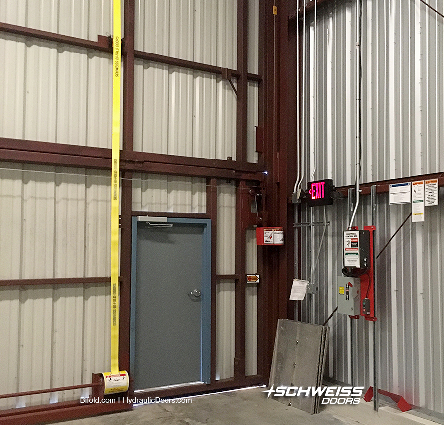 Schweiss Liftstrap Door Conversion approved by City of Vero Beach