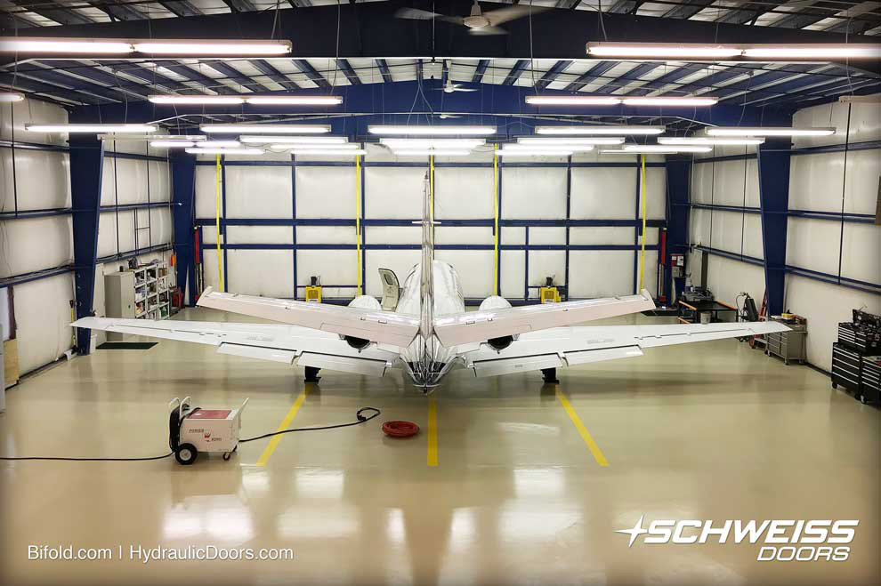Liftstrap conversion keeps Cessna Citation V safer in hangar