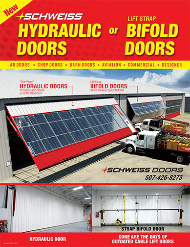 Schweiss Hydraulic and Bifold doors Literature