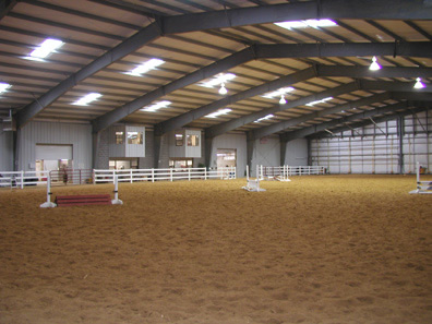 Horse Arena In Maryland Utilizes Schweiss Bifold Doors