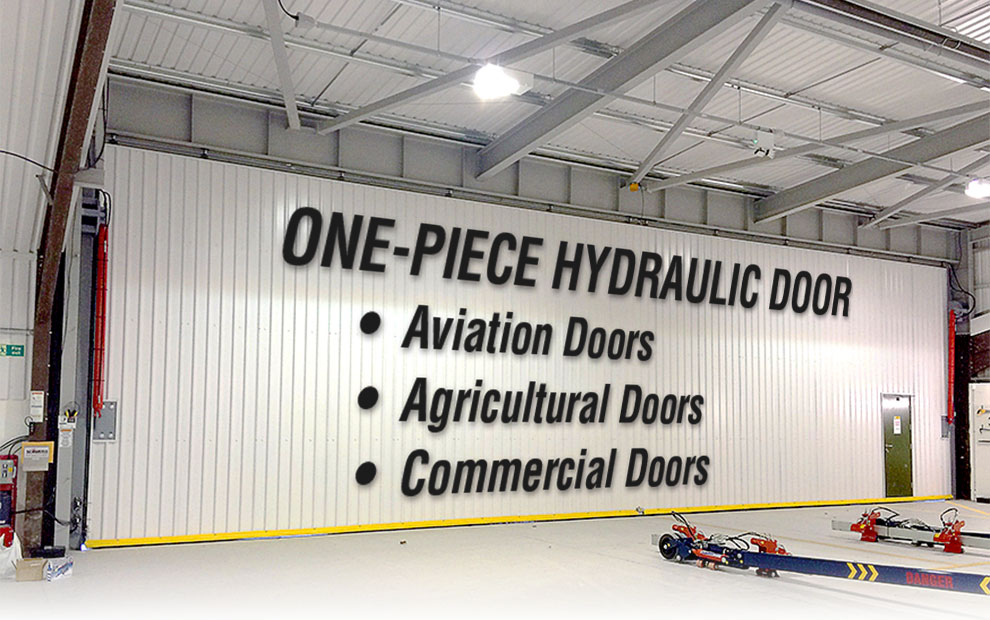 One-Piece Hydraulic Door