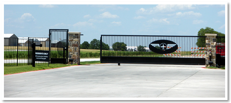 Gated Airport has many amenities with it.
