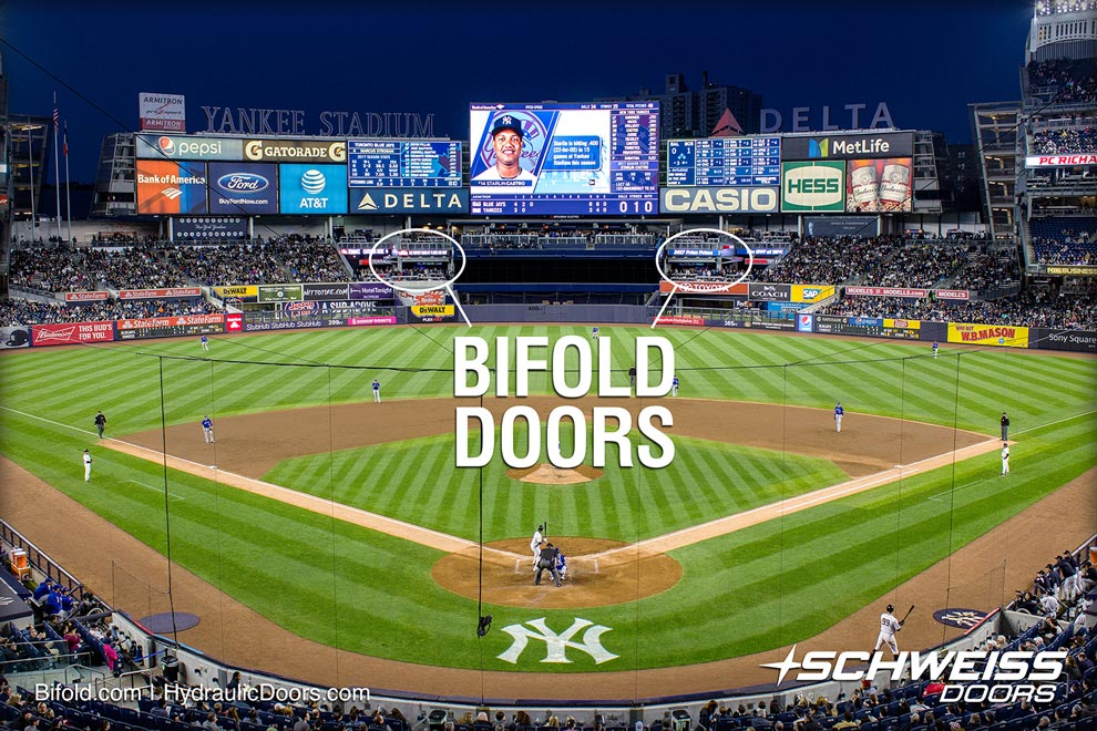 Bifold's are homerun doors