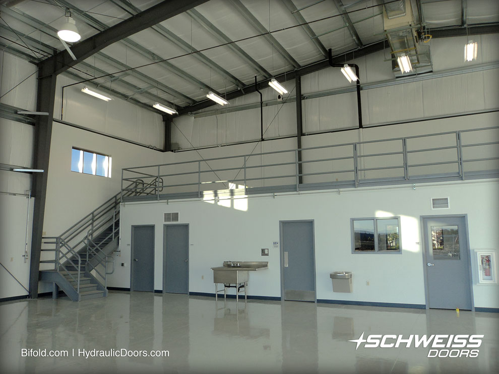 Helicopter hangar accessories