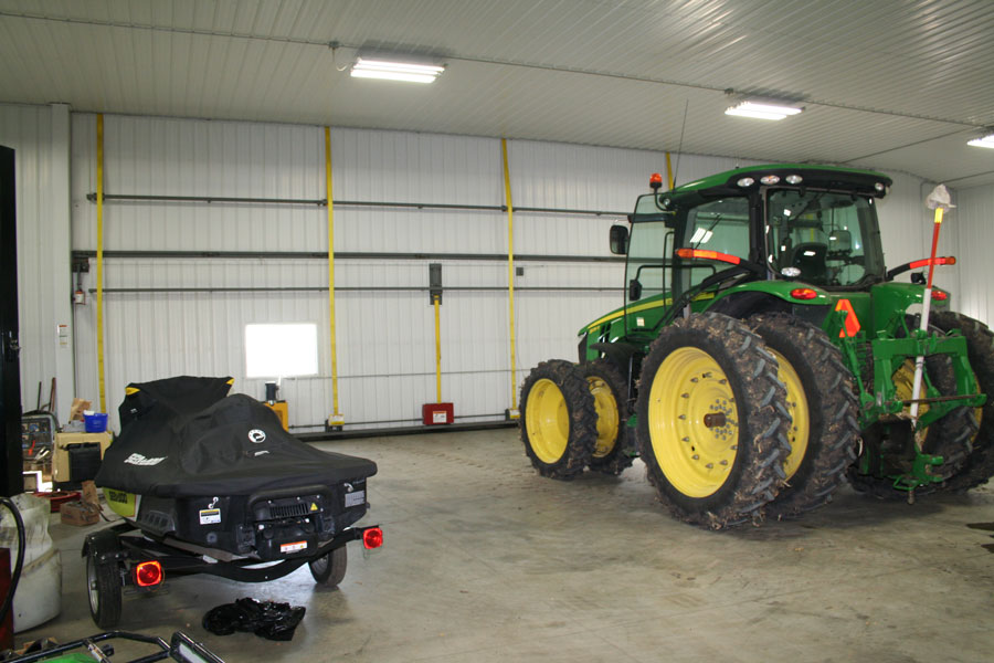 Room for tractors, snowmobiles and more
