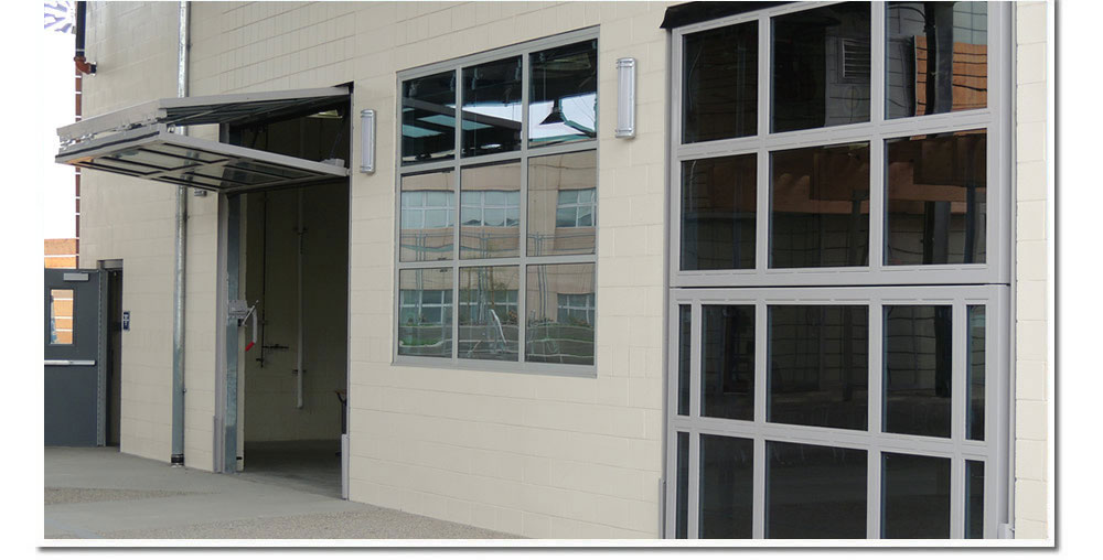Scripps High School Doors