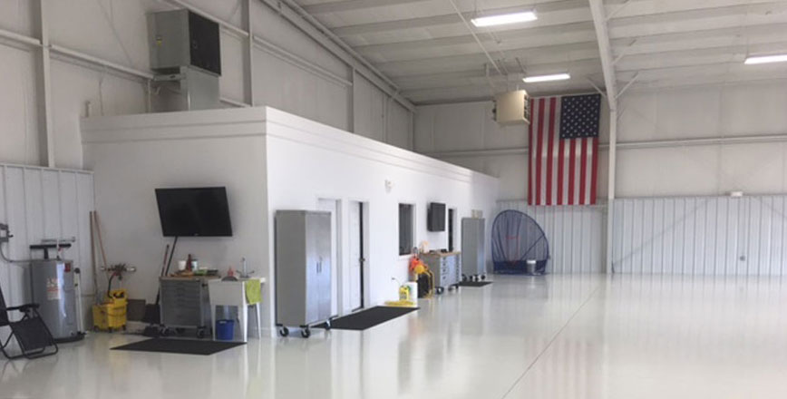 Hangar office